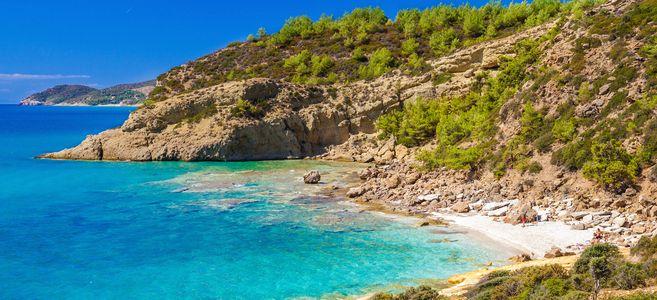 Grecka wyspa Thassos, 3,5* All Incl 05.06-12.06