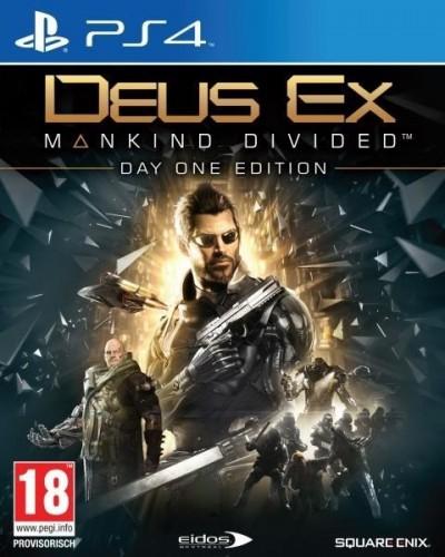 Deus Ex: Rozłam Ludzkości (PS4) PL #grajtanio.pl