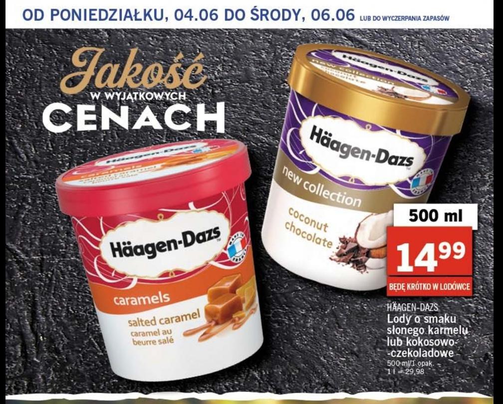 Lody Haagen Dazs Lidl