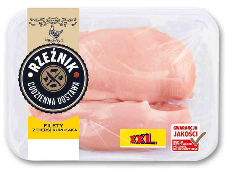 LIDL Filet z piersi kurczaka  XXL 1 kg za 9,99 zł od 04.06