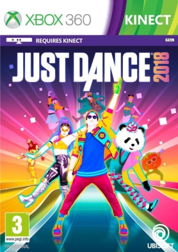JUST DANCE 2018 NA XBOX 360 Z DARMOWĄ DOSTAWĄ PACZKĄ W RUCHU