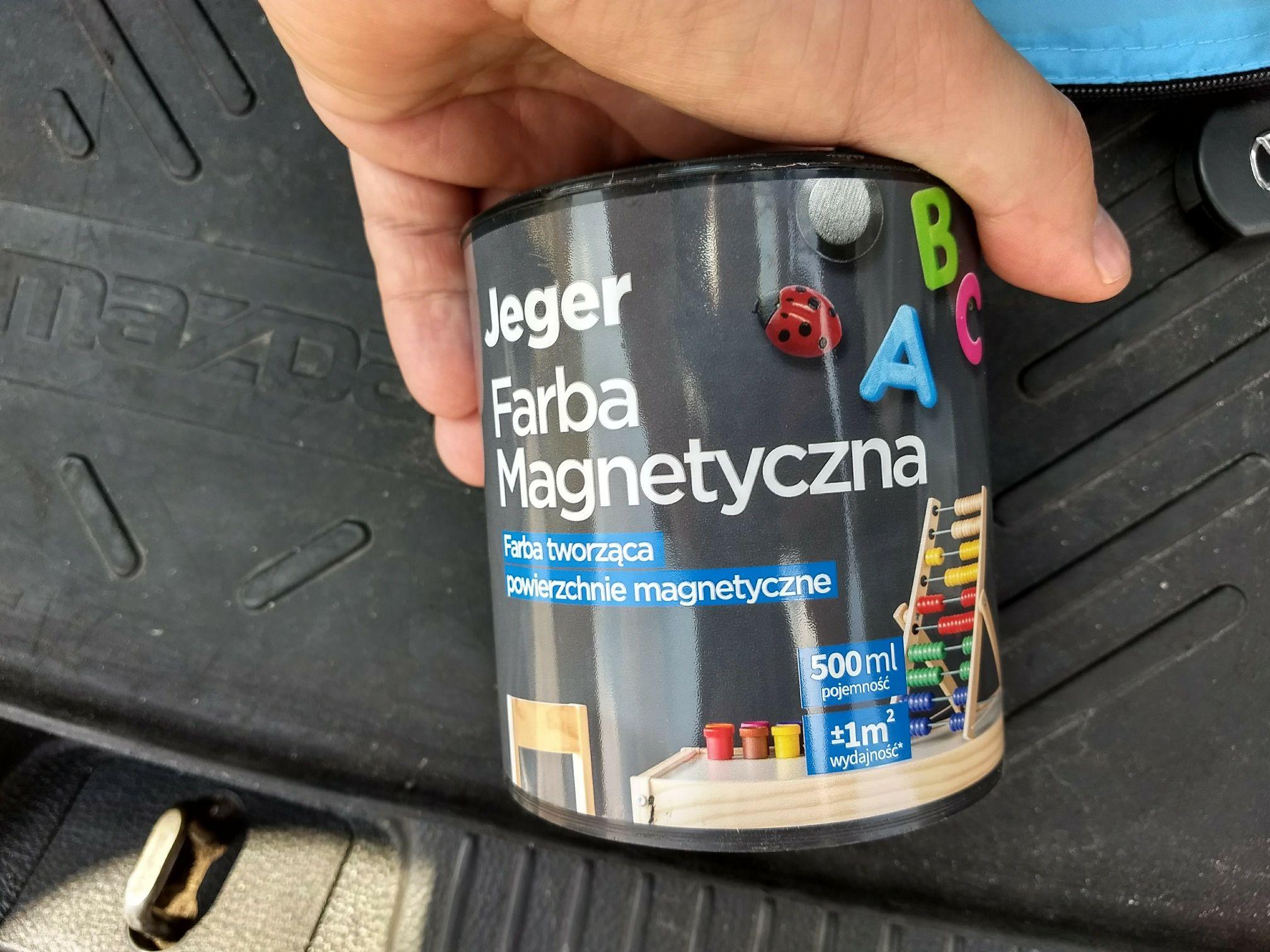 Farba magnetyczna JEGER 0,5L