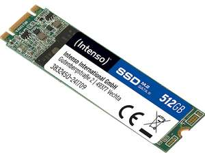 Intenso SSD 512 GB M.2 €81.99zVATDE/€84.75zVATPL #amazon.de