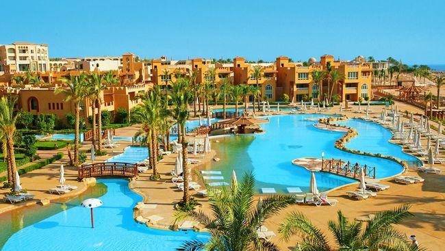 LUKSUSOWY Egipt, 5* All Incl 7dni 11basenów bar na plaży