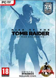 Rise of the Tomb Raider 20 Year Celebration [PC, Steam] za ~46,50zł @ CDkeys