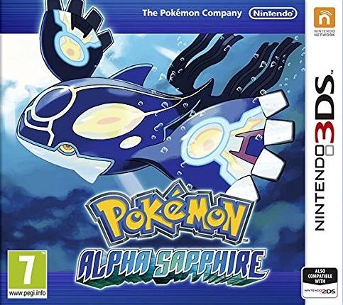 Pokemon Alpha Sapphire/Sun/Moon [N3DS] po 109,90zł z darmową dostawą @ Muve
