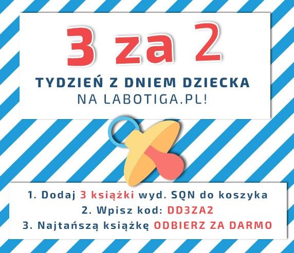 Kup 2 książki wydawnictwa SQN - trzecia gratis
