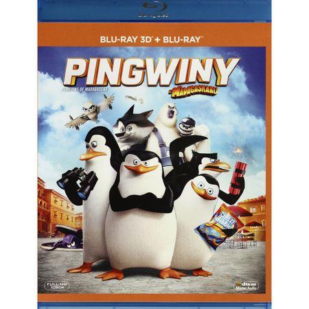 Pingwiny z Madagaskaru 3D [Blu-Ray 3D]+[Blu-Ray] za 9,99zł  :)