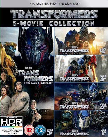 Transformers: Kolekcja 5 Filmów 4K w iTunes