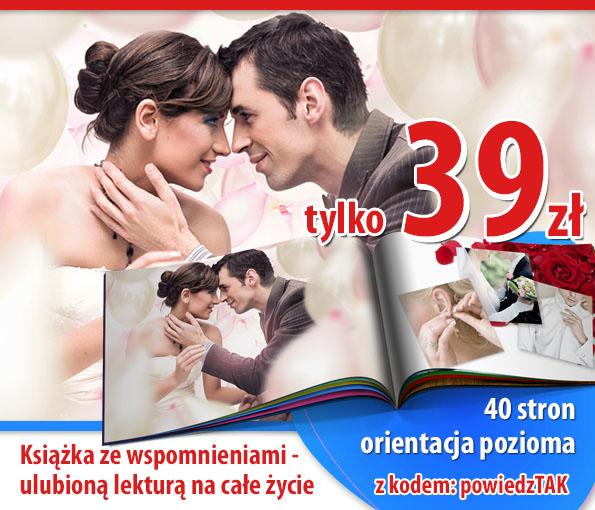 Fotoksiążka A4 - 40 stron -70% z kodem