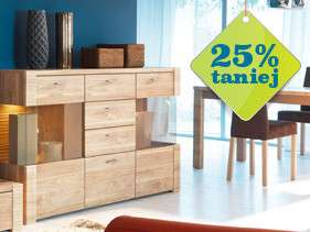 Komody taniej o 25% @ Black Red White