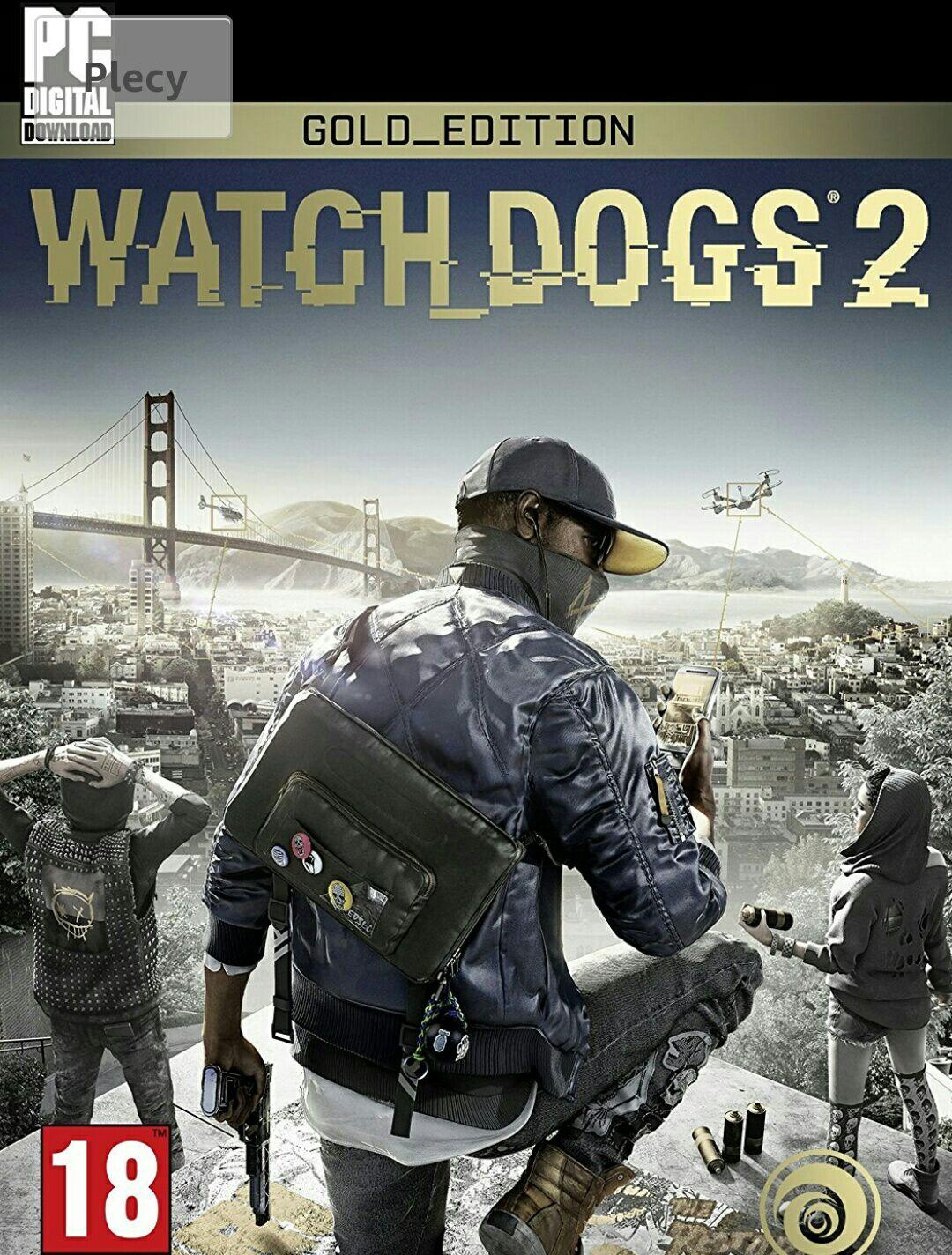 WATCH DOGS 2 Złota edycja PC