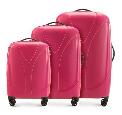 Zestaw 3 walizek z policarbonu
