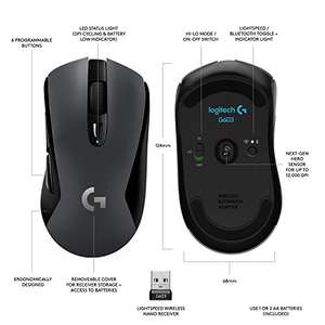 Mysz bezprzewodowa Logitech G603 Lightspeed Wireless Gaming Mouse @ Amazon