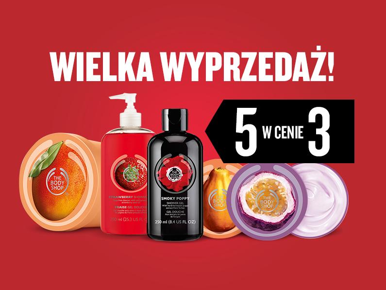 5 produktów w cenie 3 @ The Body Shop