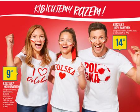 Koszulki dla kibiców polskiej reprezentacji @ Pepco