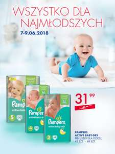 Pampers Active Baby za 31,99zł @ Super-Pharm