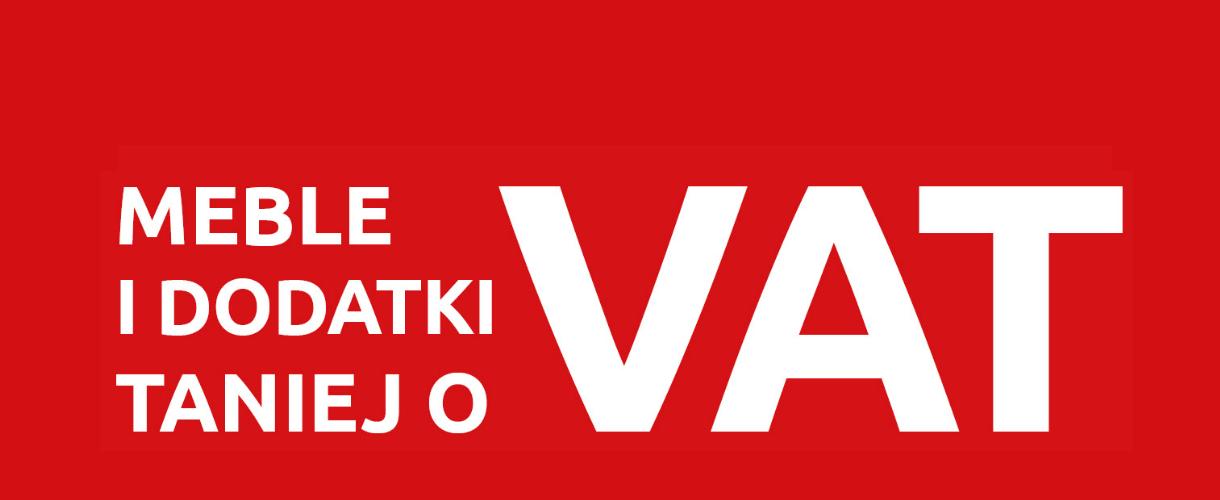 Meble i dodatki taniej o VAT @ Black Red White