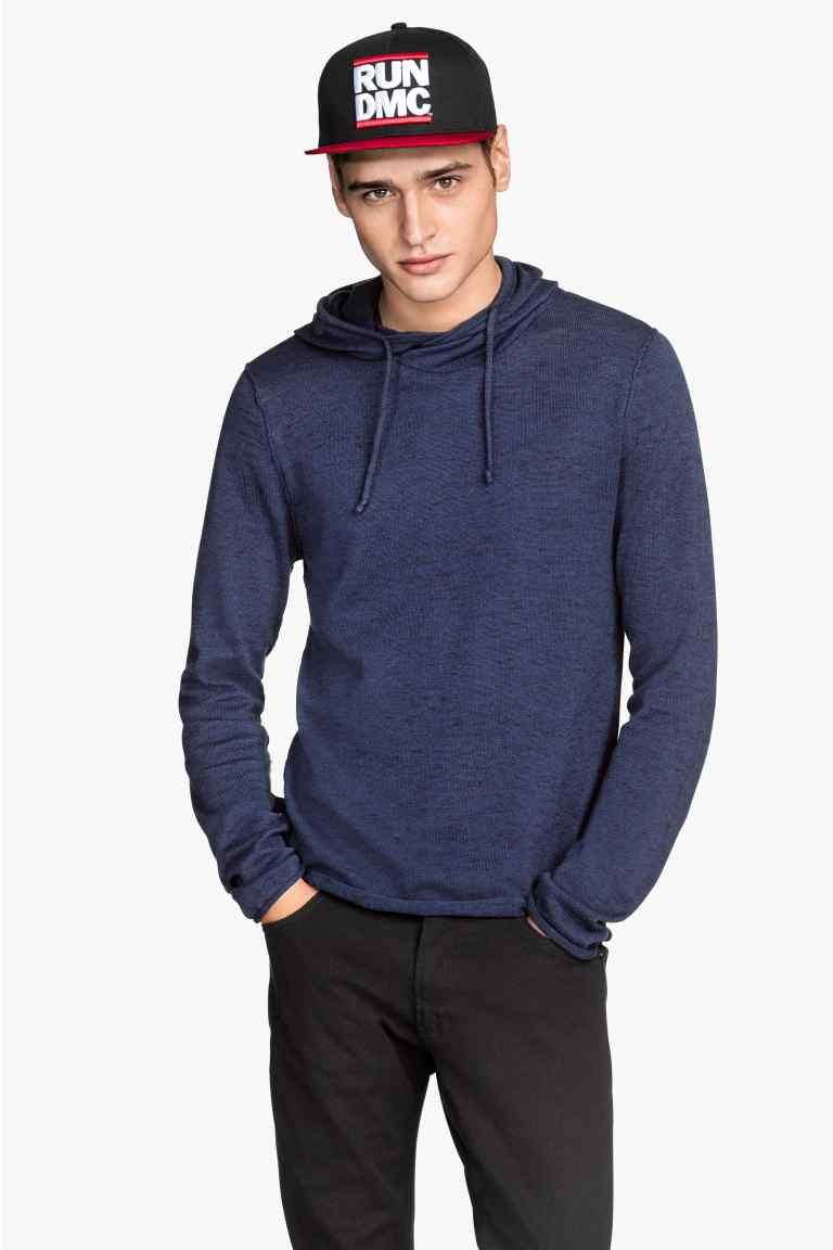 Męski sweter z kapturem za 30zł + darmowa dostawa @ H&M
