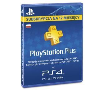 Sony Subskrypcja PlayStation Plus (12 m-ce karta zdrapka) Olsztyn, Zielona Góra, Ełk, Tomaszów Lubelski