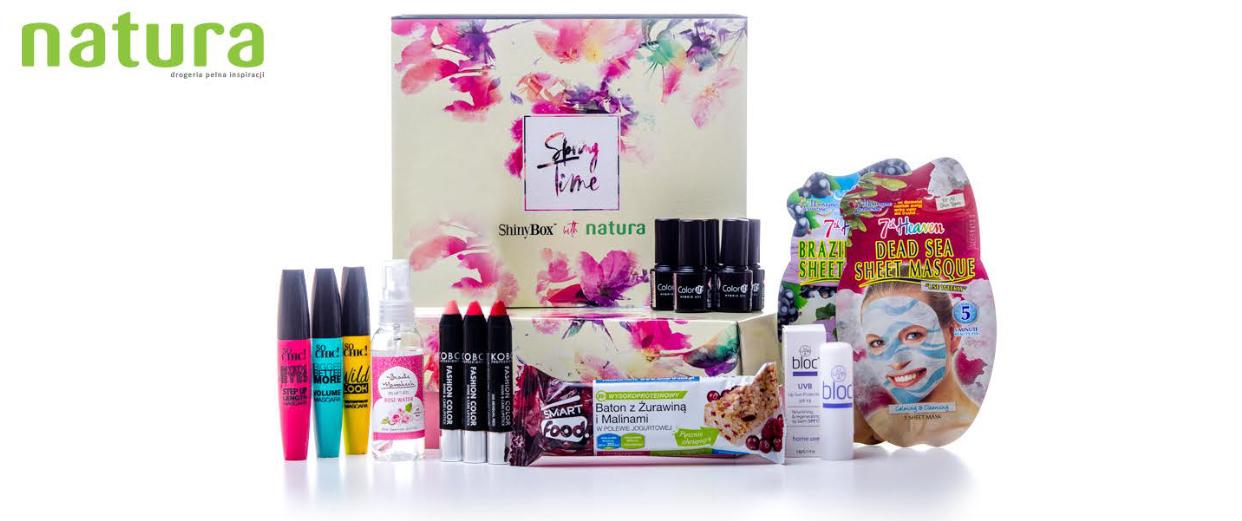 Pudełko z kosmetykami o wartości 63zł przy zakupach od 120zł @ Natura
