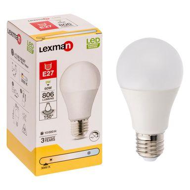 Żarówka LED E27 9 W 806 LM LEXMAN Ciepła Biała lub Neutralna Biała