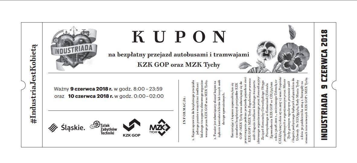 Darmowy bilet na KZK GOP/MZK Tychy 9.06.2018