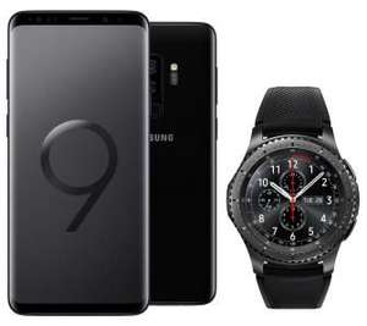 Galaxy S9+ w zestawie z Gear S3 Frontier