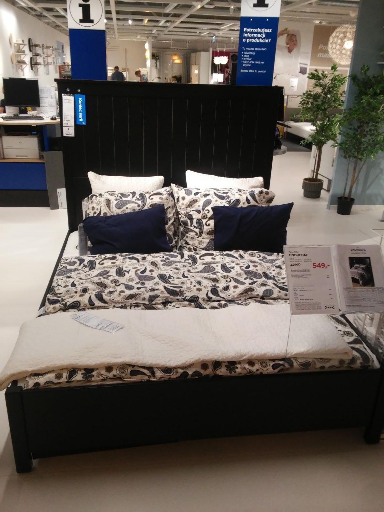 Rama łóżka (łóżko) Undredal - wyprzedaż w Ikea Lublin