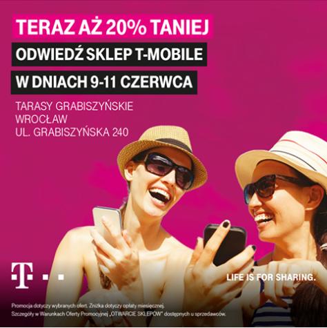 20% RABATU W T-MOBILE (Wrocław)