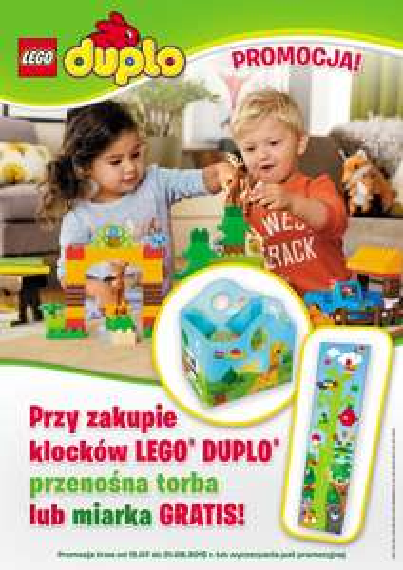 GRATIS przy zakupie klocków Lego Duplo @ Fido