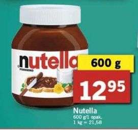 Nutella w Lidlu