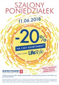 20% rabatu na cały asortyment (z kartą) @ Super-Pharm