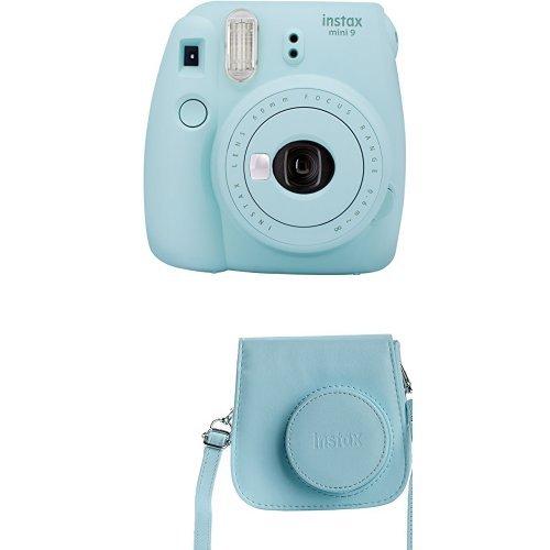 Fujifilm Instax Mini 9 z etui (Ice Blue)