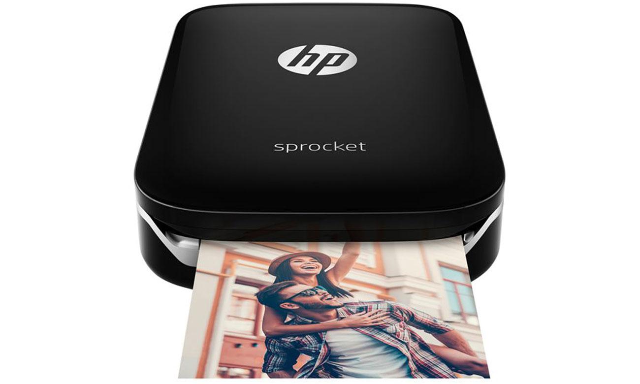 Przenośna drukarka do zdjęć ze smartfona z zapasem papieru fotograficznego ZINK