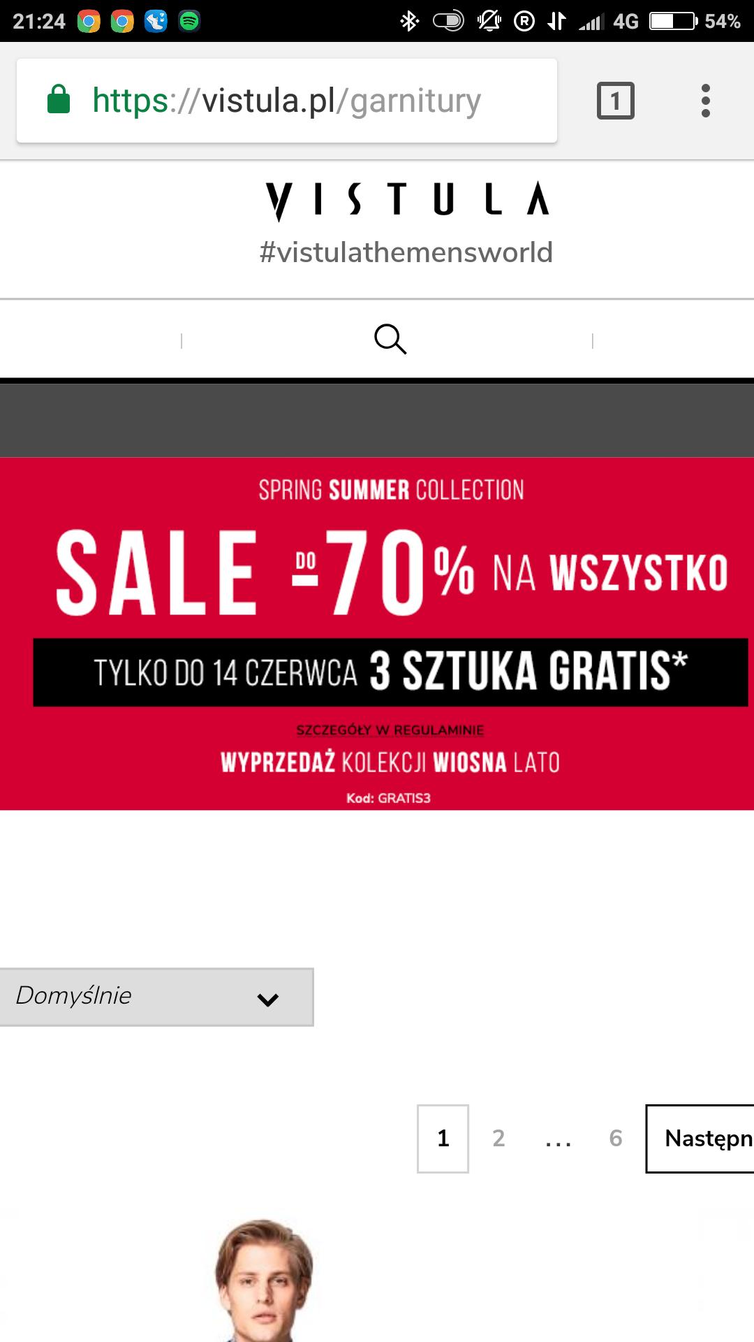 Vistula 3 sztuka gratis na produkty do - 70%