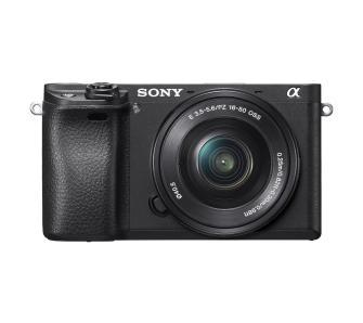 Sony Alpha a6300 (ILCE-6300L) + 16-50 mm (czarny) + Caschback 400zł + Dwie raty gratis. Euro