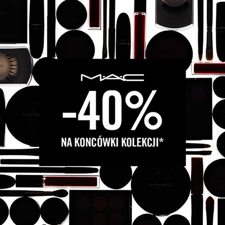 -40% na wybrane kosmetyki @ MAC