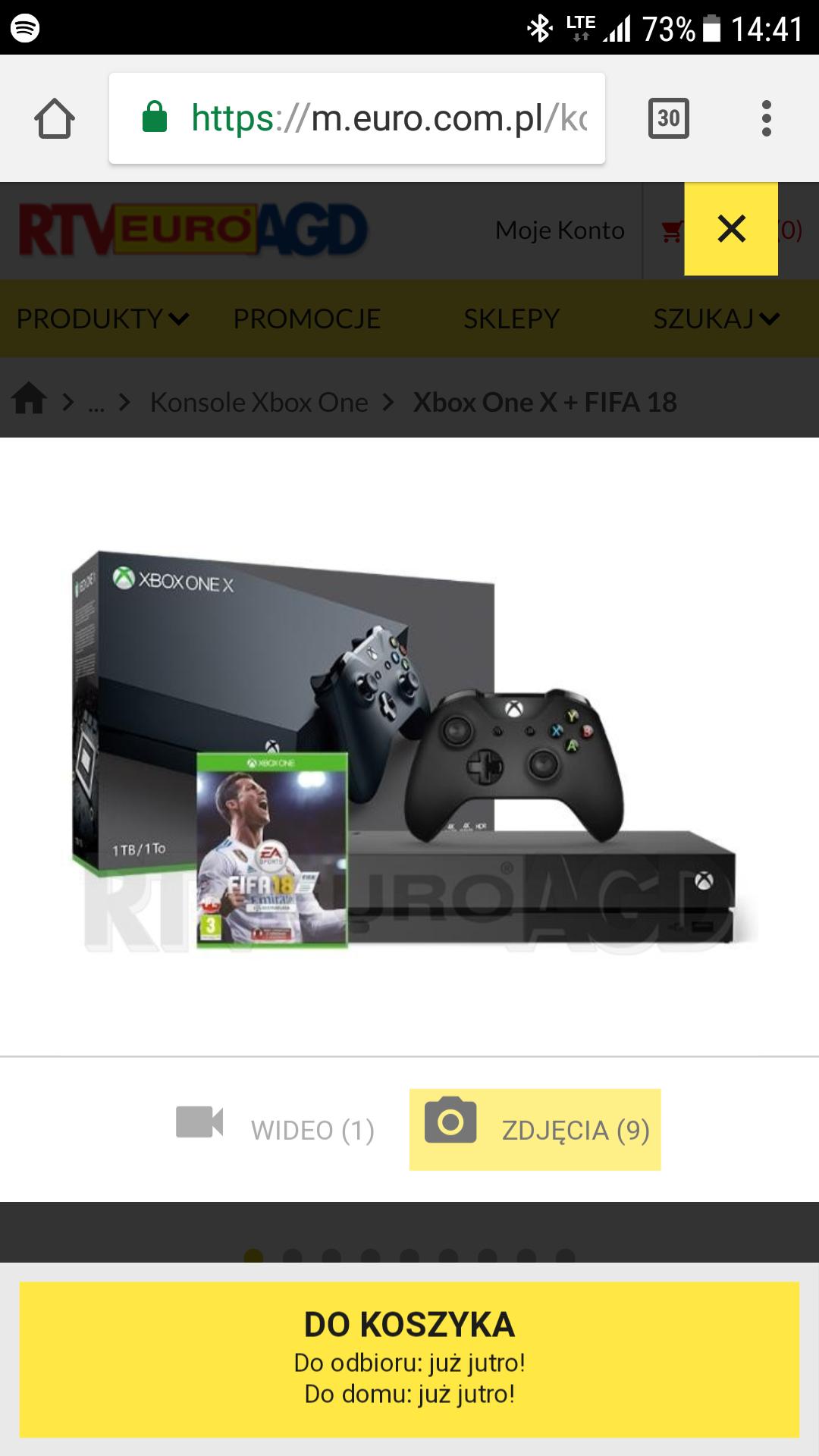 Xbox one X taniej z okazji E3
