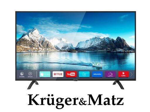 Telewizor 55'' Kruger&Matz 4K ULTRA HD SMART TV