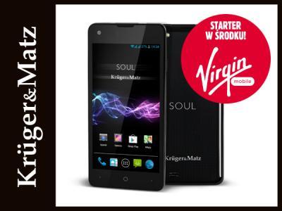 Allegro: Kruger&Matz SOUL, Dual SIM 8Mpix 1GB RAM Android 4.4 KitKat