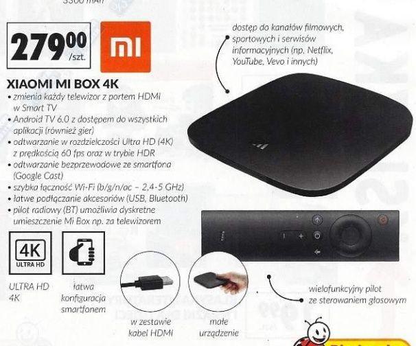 Xiaomi Mi box 4k w Biedronce