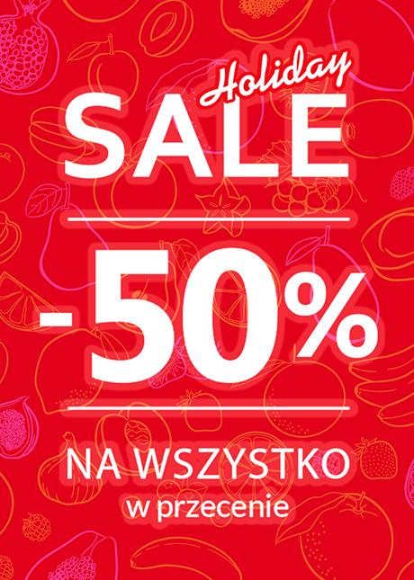 TOPSECRET -50% NA WSZYSTKO w przecenie! Holiday SALE