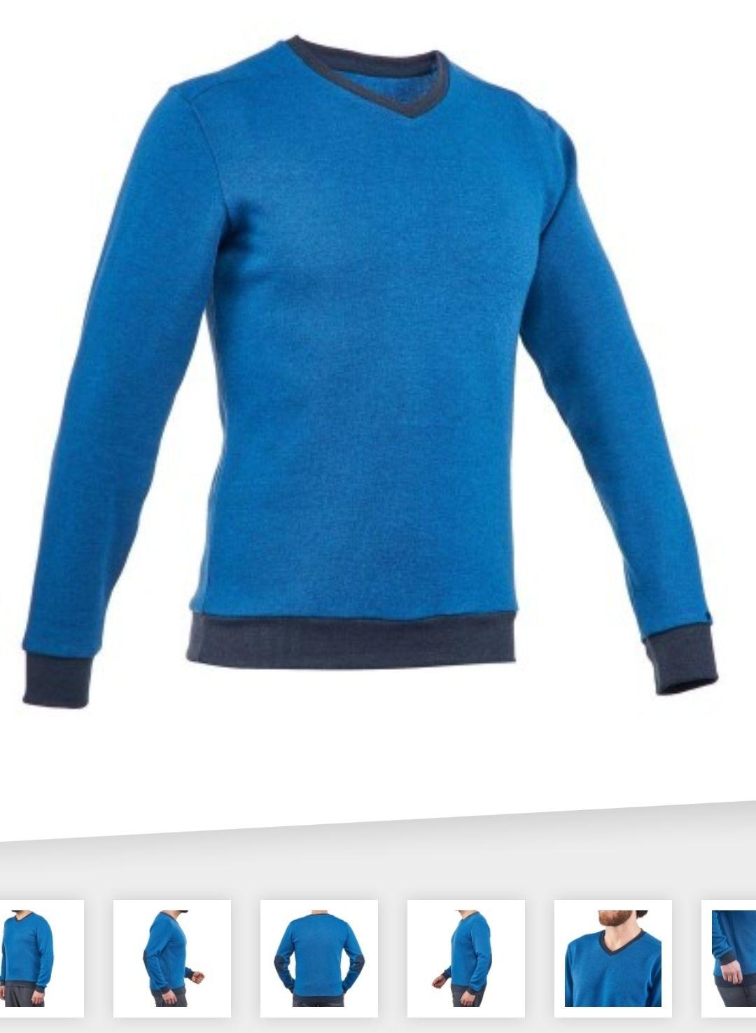 Sweter turystyczny męski Quechua NH150 @ Decathlon