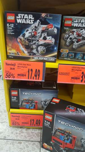 Kaufland: Lego Technic (Hook Loader) & Lego Star Wars (Microfighter)