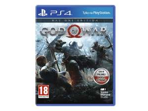 Ps4 God Of War 4 Day One Edition