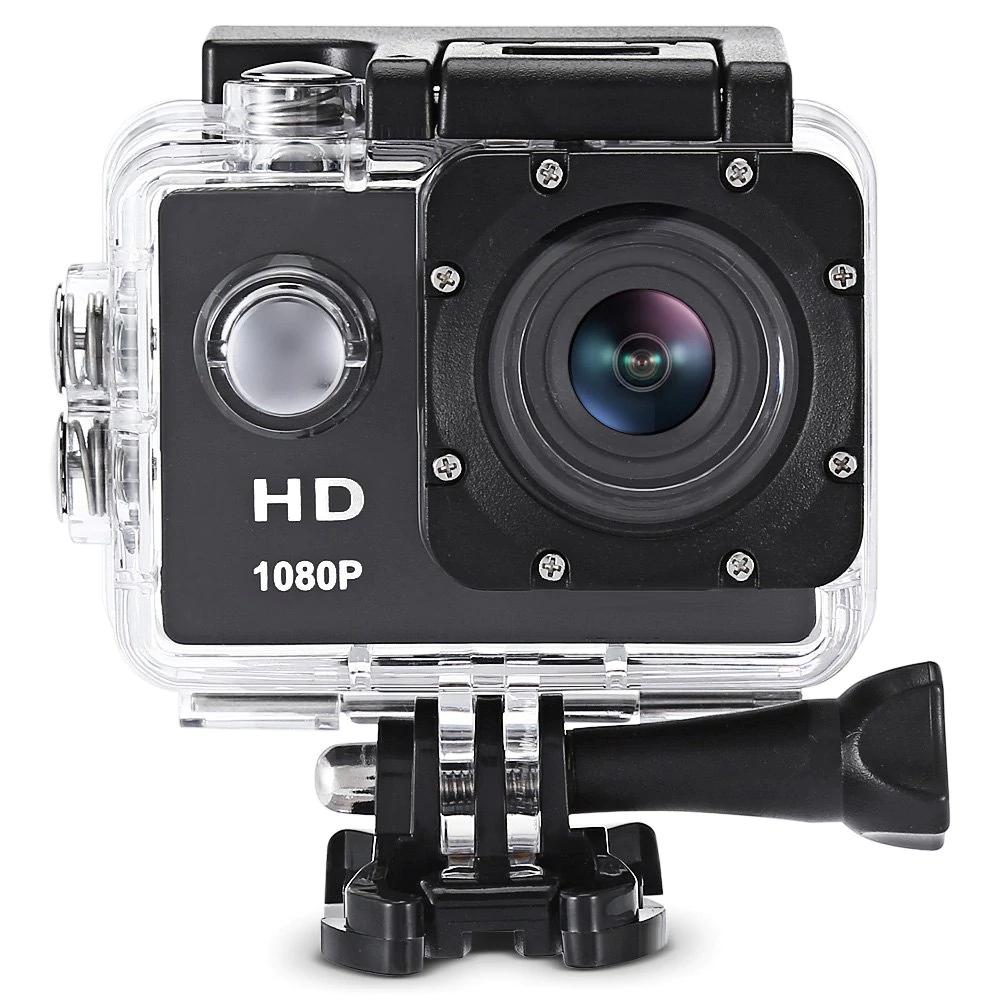 Kamera sportowa F80 1080p, wodoodporna