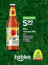 Piwo Vermont IPA - Browar Grodzisk & SzałPiw @ Żabka i Freshmarket (BYŁO w Lidlu)