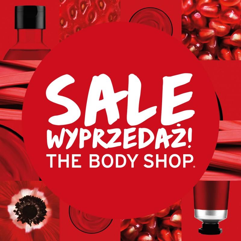 Wyprzedaż z rabatami do 50% @ The Body Shop