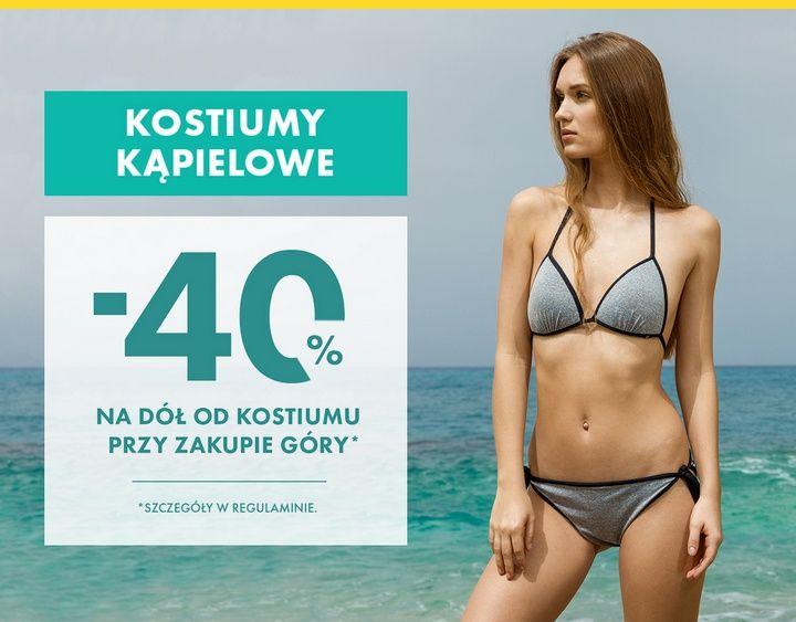 40% na dół stroju kąpielowego 50style